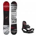 Snowboard komplet Gravity Bandit 19/20 + vázání G3