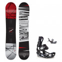 Snowboard komplet Gravity Bandit 19/20 + Fastec
