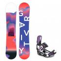 Snowboard komplet Gravity Fairy 19/20 junior + Starlet