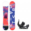 Snowboard komplet Gravity Fairy 19/20 junior + Croxer