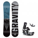 Snowboard komplet Gravity Flash 19/20 junior + Fastec