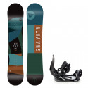 Snowboard komplet Gravity Empatic 19/20 junior + Croxer