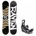 Snowboard komplet Raven Relict + vázání S200