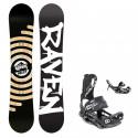 Snowboard komplet Raven Relict + vázání Fastec