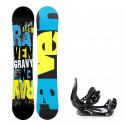 Snowboard komplet Raven Gravy + vázání Croxer
