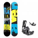 Snowboard komplet Raven Gravy + vázání Fastec