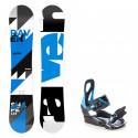 Snowboard komplet Raven Shape + vázání S200 blue