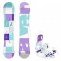 Snowboard komplet Raven Laura + vázání Raven Starlet