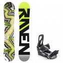 Snowboard komplet Raven Core carbon + vázání S200