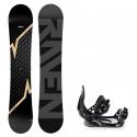 Snowboard komplet Raven Pulse + vázání Croxer