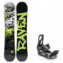 Snowboard komplet Raven Core + vázání S200