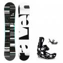 Snowboard komplet Raven Supreme mint + vázání Fastec