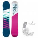 Snowboard komplet Nidecker Flake 19/20 + vázání Fastec