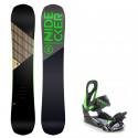 Snowboard komplet Nidecker Play + vázání s200 green