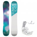 Snowboard komplet Nidecker Angel + vázání Fastec