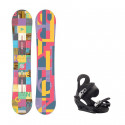 Snowboard komplet Burton Feather 16/17 + vázání Citizen black