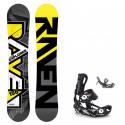 Snowboard komplet Raven Explorer + vázání Fastec