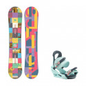 Snowboard komplet Burton Feather 16/17 + vázání Citizen blue