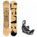 Snowboard komplet Raven Solid + vázání Raven s200