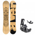 Snowboard komplet Raven Solid + vázání Raven Fastec