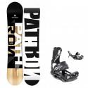 Snowboard komplet Pathron TT + vázání Raven Fastec