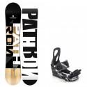 Snowboard komplet Pathron TT + vázání Raven S200