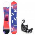 Snowboard komplet Gravity Fairy 19/20 junior + vázání S200
