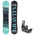 Snowboard komplet Gravity Sirene 20/21 + vázání S200