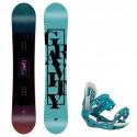 Snowboard komplet Gravity Sublime 20/21 + vázání G3