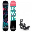 Snowboard komplet Gravity Thunder 20/21 + vázání S200