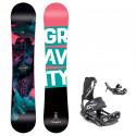 Snowboard komplet Gravity Thunder 20/21 + vázání Fastec
