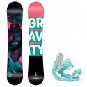Snowboard komplet Gravity Thunder 20/21 + vázání G1 mint