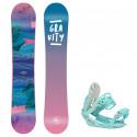 Snowboard komplet Gravity Voayer 20/21 + vázání G1