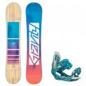 Snowboard komplet Gravity Trinity 20/21 + vázání G3