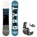 Snowboard komplet Gravity Flash 20/21 junior + vázání Fastec