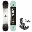 Snowboard komplet Gravity Adventure 20/21 + vázání Fastec