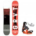 Snowboard komplet Gravity Madball 20/21 + vázání Fastec