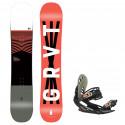 Snowboard komplet Gravity Madball 20/21 + vázání G1
