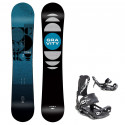 Snowboard komplet Gravity Cosa 20/21 + vázání Fastec