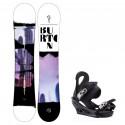 Snowboard komplet Burton Stylus 20/21 + vázání Citizen black