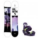 Snowboard komplet Burton Stylus 20/21 + vázání Citizen purps