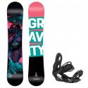 Snowboard komplet Gravity Thunder 20/21 + vázání G2