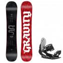 Snowboard komplet Gravity Silent 20/21 + vázání G1