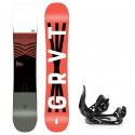 Snowboard komplet Gravity Madball 20/21 + vázání S200